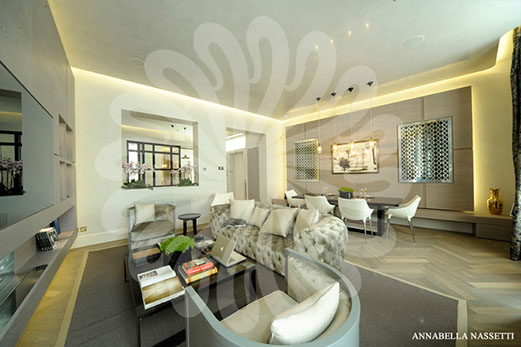 Fitting a Luxury Interior to a Smaller Apartment & Small Apartments Luxury Interior Design by Annabella Nassetti