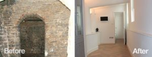 Before & after pictures of Annabella Nassetti house renovation