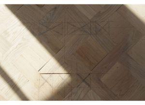 Annabella Nassetti wood work preparation for flooring