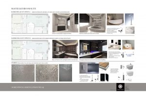 Design proposal for bathroom suite