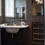 Modern bathroom with classic style sink
