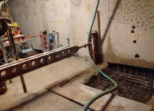 Annabella Nassetti team renovating a house foundations