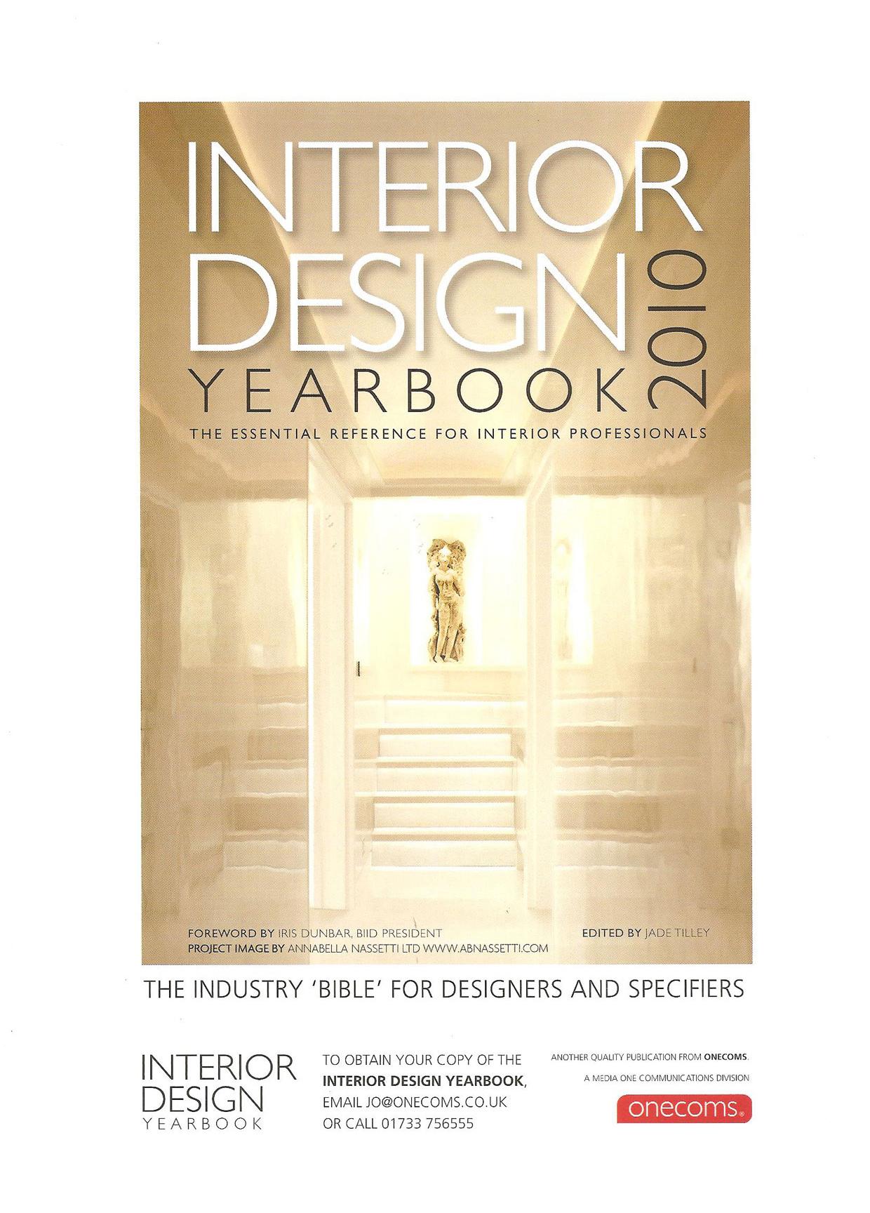 Interior Design Yearbook March 2010