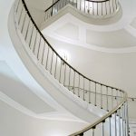Spiral staircase in period property