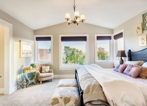 Cosy & luxurious bedroom with view