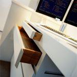 Bespoke desk with storage