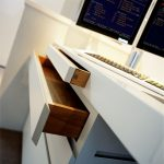 Bespoke desk with storage