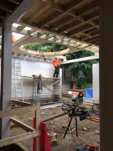 Construction of circular skylight