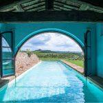 Indoor/Outdoor pool in private property