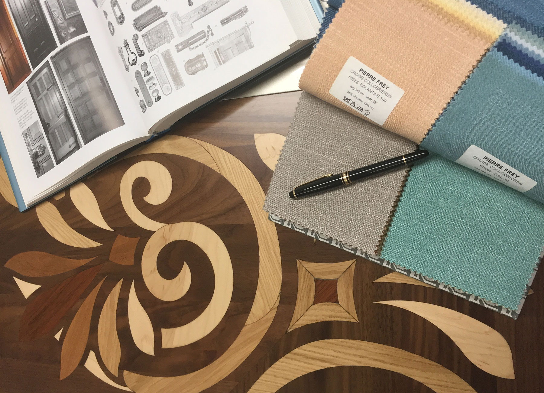 Fabric options   Interior Design