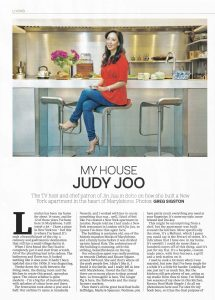 Annabella Nassetti on City A.M.'s luxury lifestyle magazine - project for Celebrity Chef Judy Joo