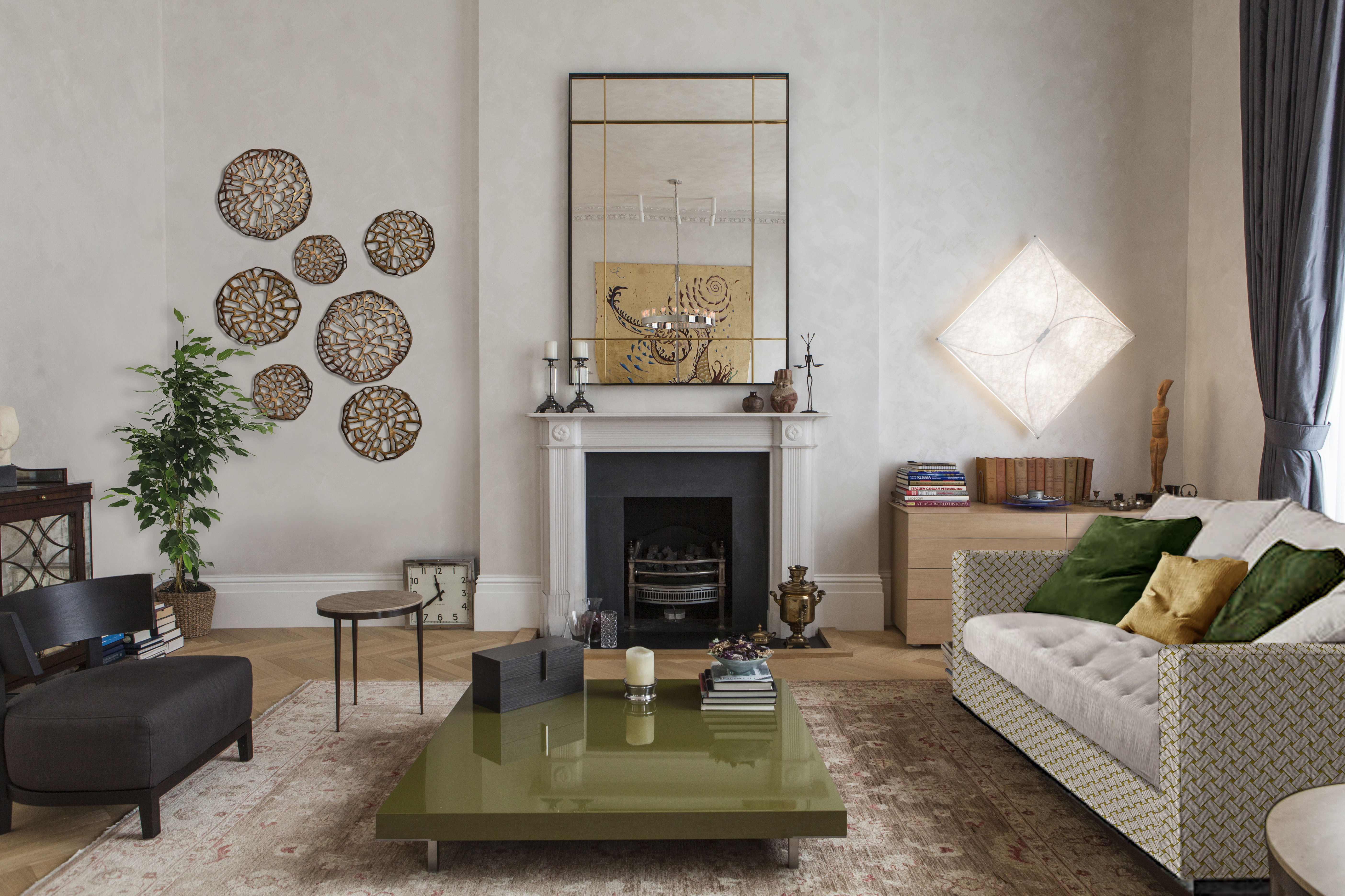 dorset square living room